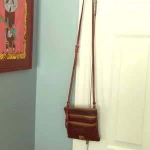 Kate Spade Black/Brown Leather Satchel